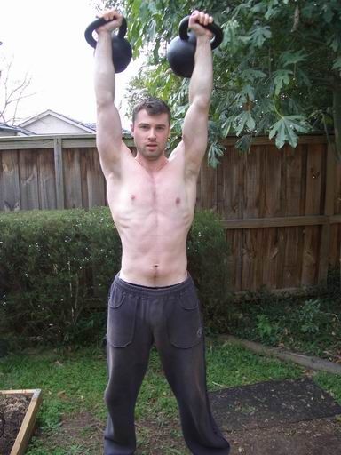 Double Kettlebell Press